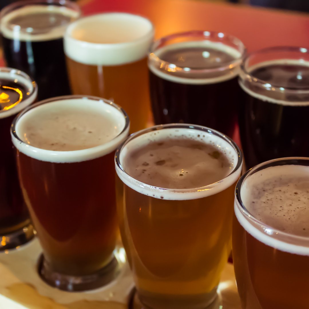 What are Wine and Beer Flights?